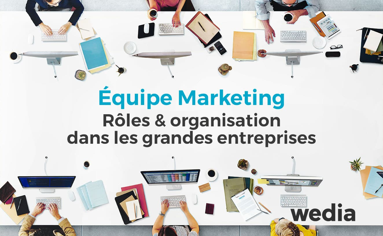 Organisation et rôles marketing