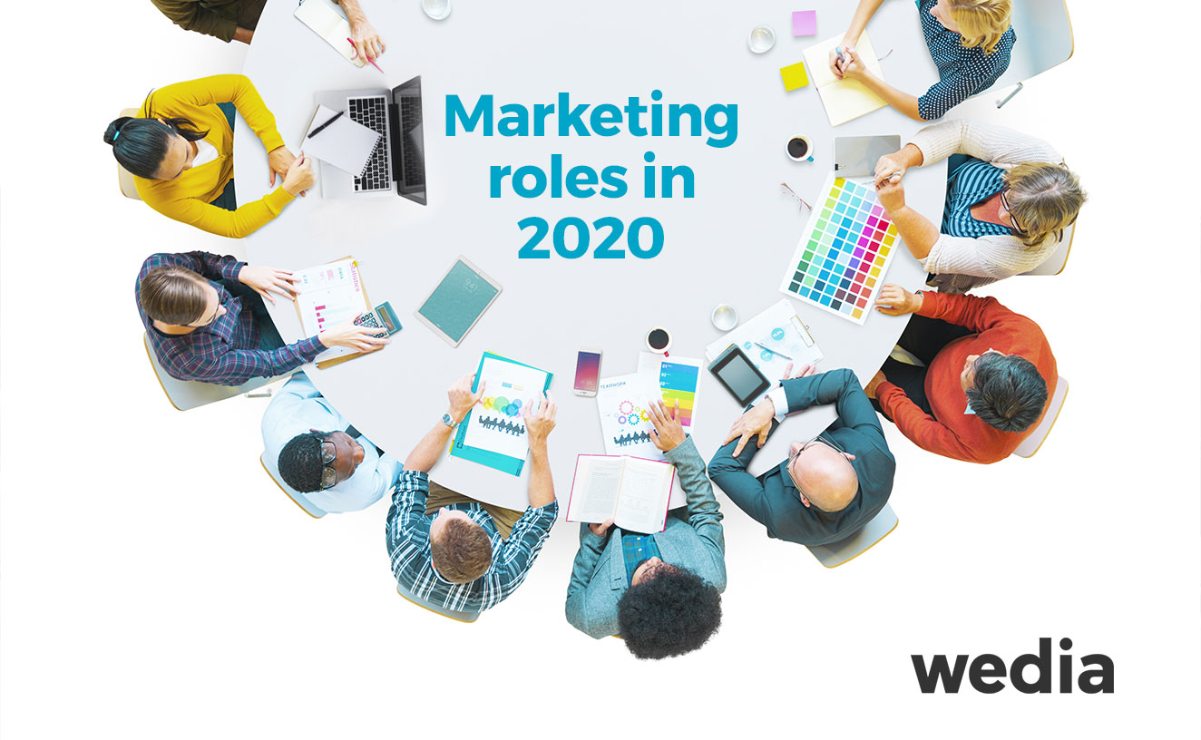 Marketing roles 2020