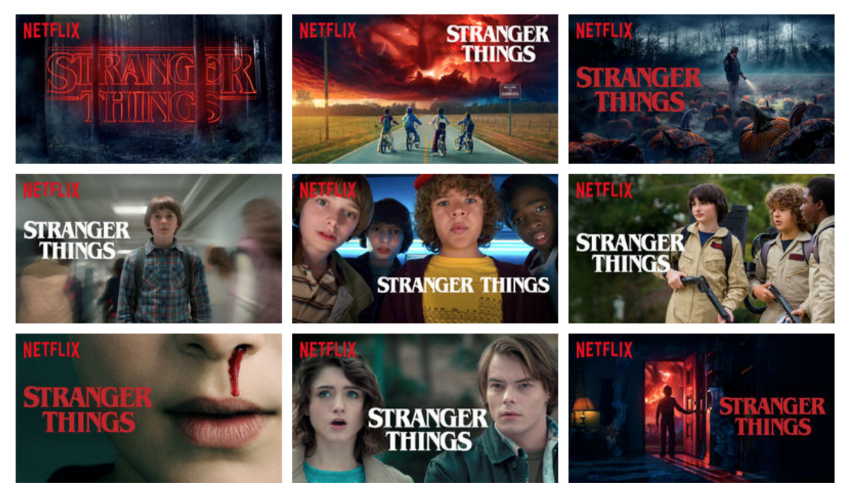 Netflix's Stranger Things Personalized Product Images