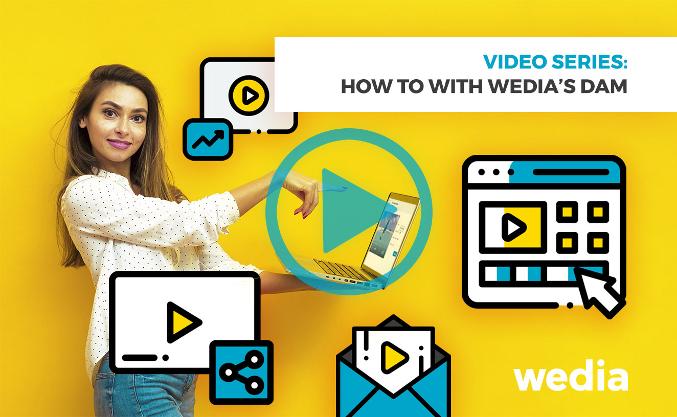 Leverage video usage Wedia DAM