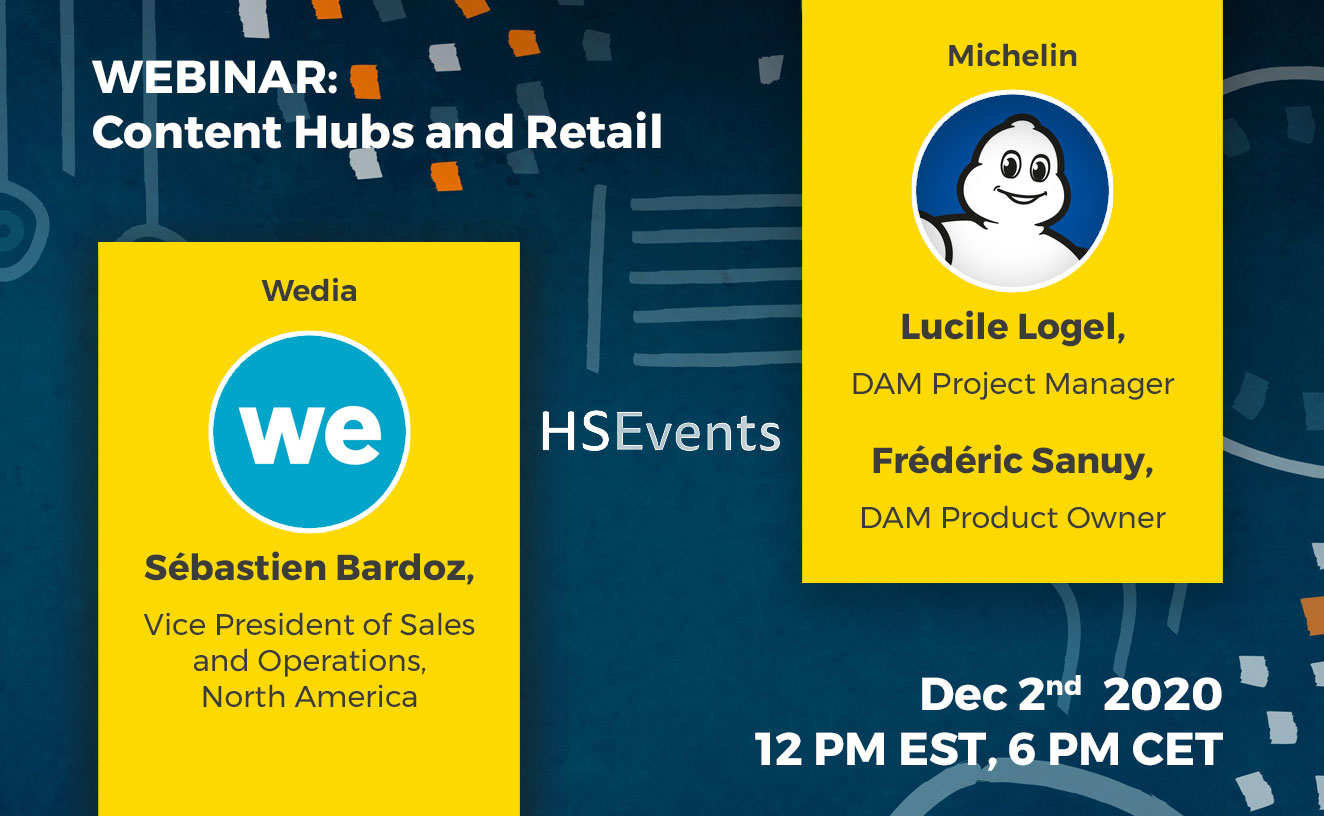 Wedia Webinar Content Hubs and Retail