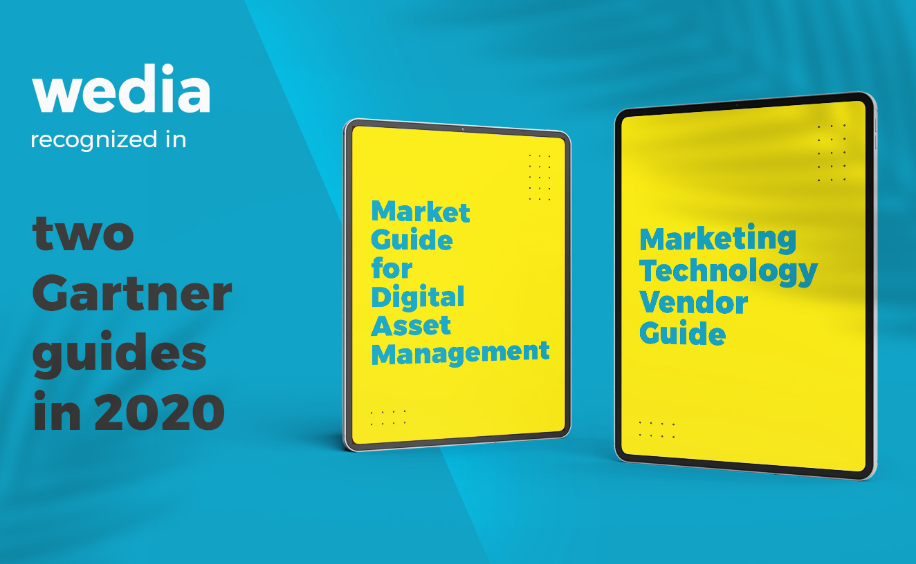 Wedia Digital Asset Management recognized in Gartner Reports 2020