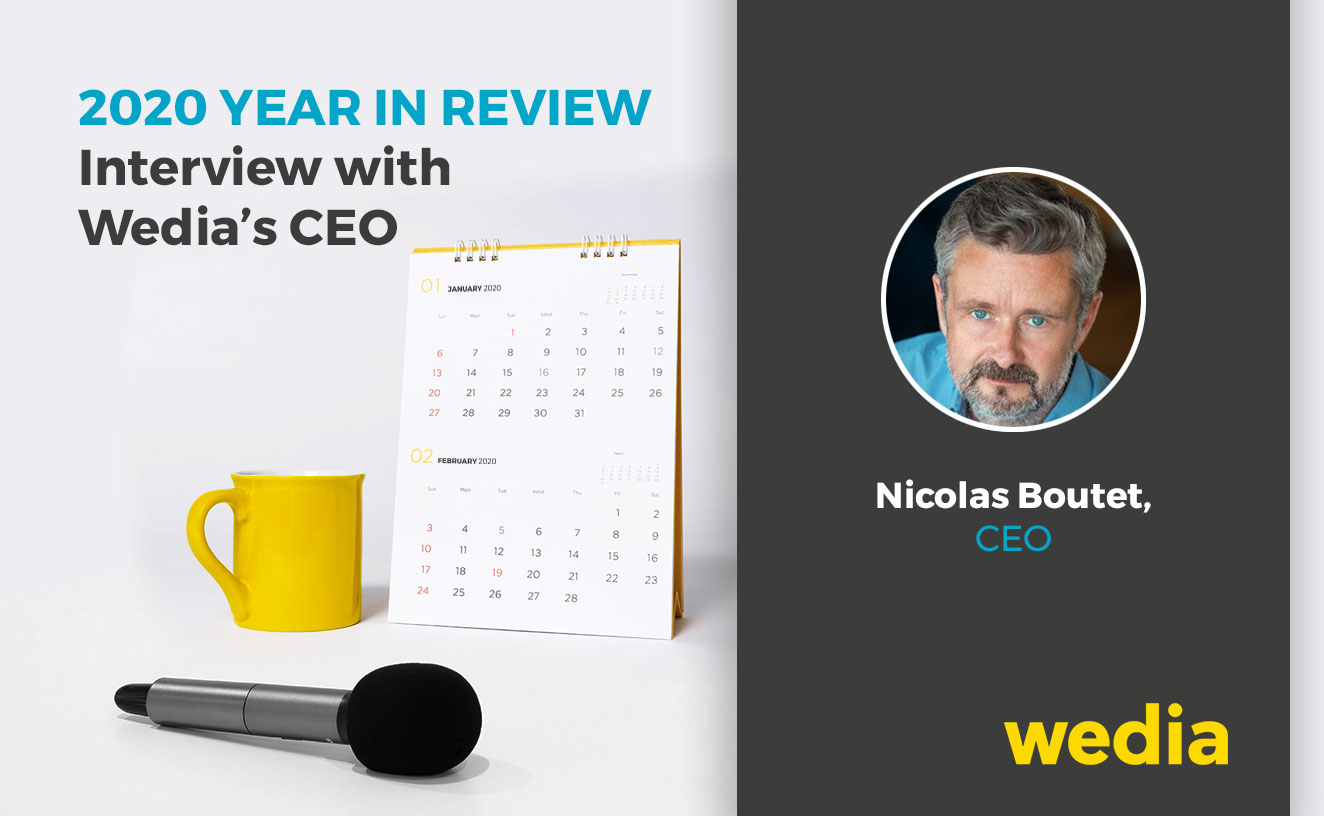 2020 Year in Review Interview with Wedia CEO