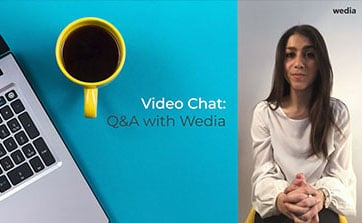 Wedia - Driving Channel Sales Through DAM, Video chat, Q&A with Wedia