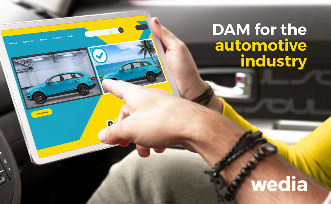 DAM for the automotive industry