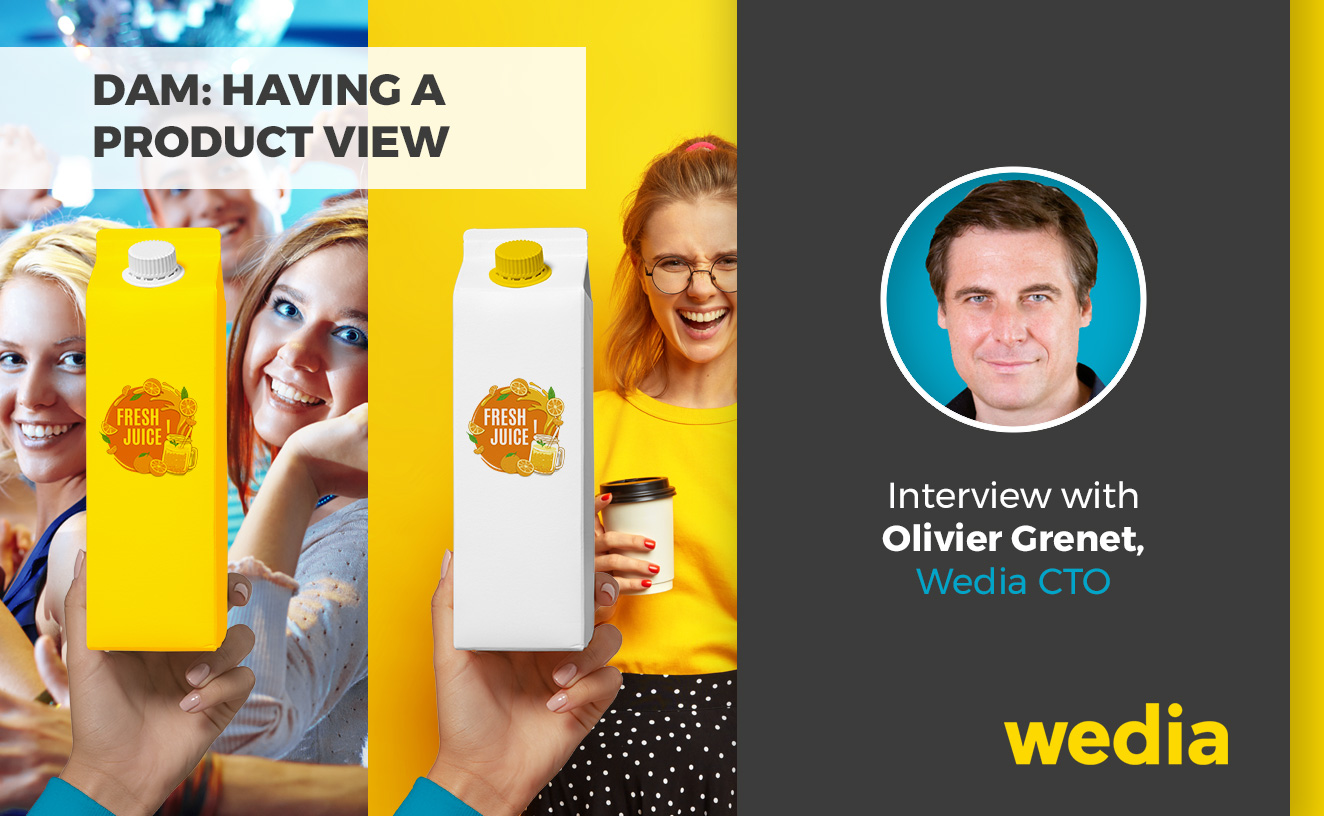DAM product view itw, Olivier Grenet CTO